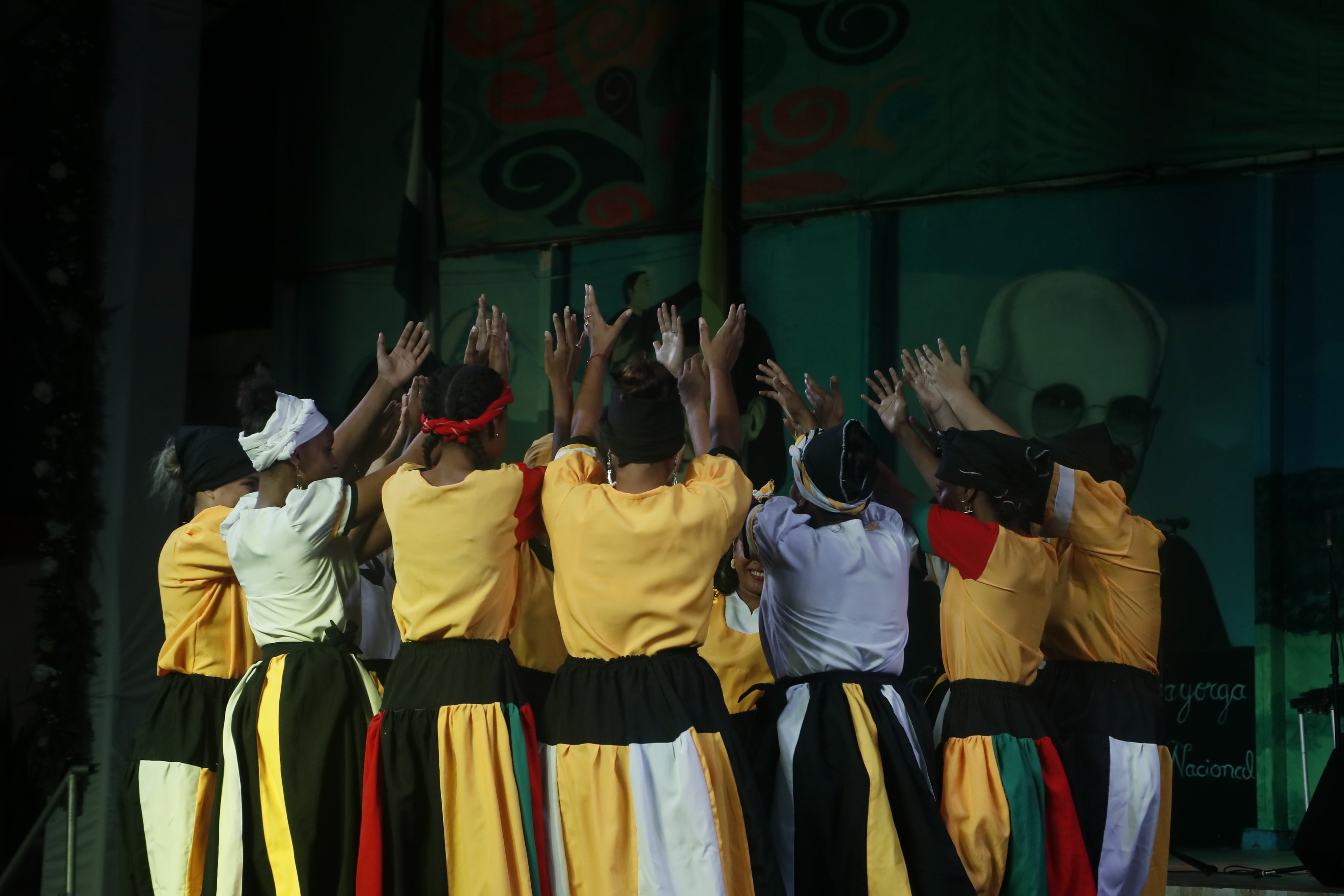 URACCAN Dance Group at the II Rubén Darío International Festival of the Arts
