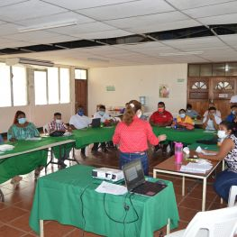 Training of URACCAN 2021 polling station members